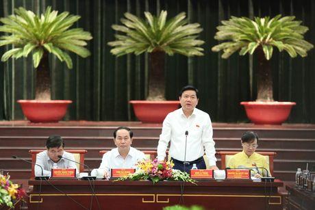 Chu tich nuoc Tran Dai Quang: 'Khong hinh su hoa quan he kinh te, dan su' - Anh 3