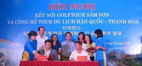Thanh Hoa: Cong bo tour du lich Thanh Hoa - Han Quoc - Anh 1