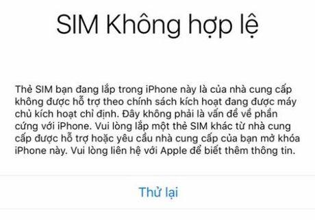 Can than khi cai dat lai iPhone o Viet Nam keo bi khoa may - Anh 2
