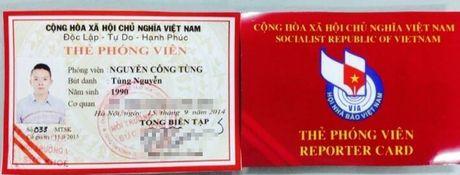 Bo TT&TT chan chinh viec cap cac loai the gay nham lan voi The nha bao - Anh 2