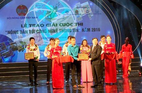 Anh nong dan Hoa Binh gianh giai Nhat cuoc thi 'Nong dan voi CNTT 2016' - Anh 1