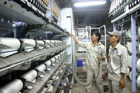 Tang thue Polyseter nhap khau len 2% khong cuu noi Nha may xo soi cua PVTex - Anh 1