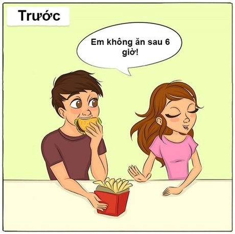 Anh vui: Cuoc song lua doi truoc va sau khi ket hon - Anh 9