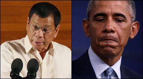 Tong thong Philippines lai co phat bieu kho nghe nham vao ong Obama - Anh 1