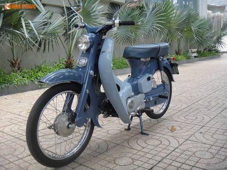 'Thuoc doc' Honda Super Cub C100 doi dau, sieu hiem tai VN - Anh 1
