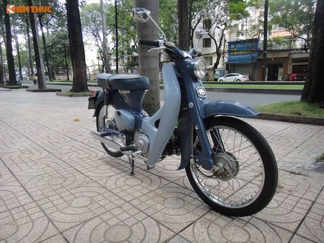 'Thuoc doc' Honda Super Cub C100 doi dau, sieu hiem tai VN - Anh 4