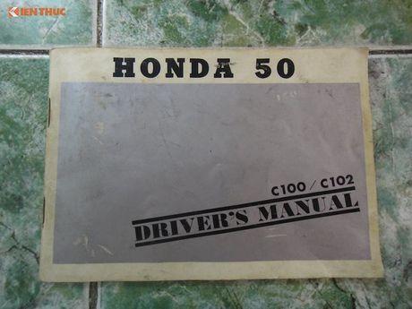 'Thuoc doc' Honda Super Cub C100 doi dau, sieu hiem tai VN - Anh 5