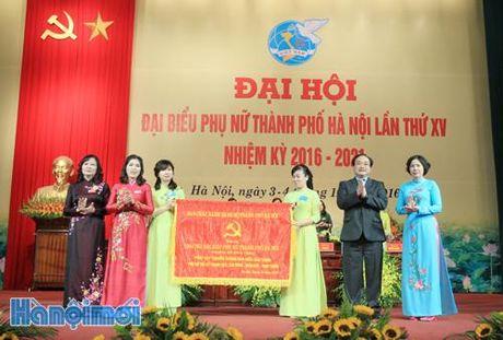 Dong chi Tran Thi Phuong Hoa tiep tuc giu chuc Chu tich Hoi - Anh 1