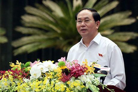 Chu tich nuoc Tran Dai Quang: Doanh nhan phai vung chac, tiep tuc giu TP.HCM o vi the dau tau - Anh 1