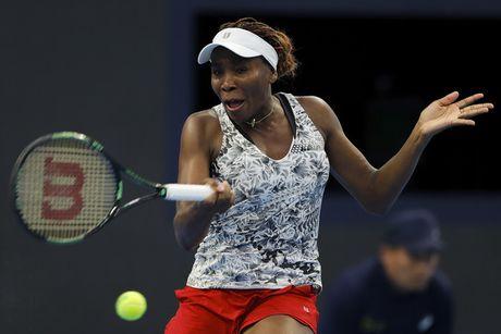 Venus Williams de thua tay vot hang 223 the gioi o vong 2 giai Trung Quoc mo rong - Anh 1