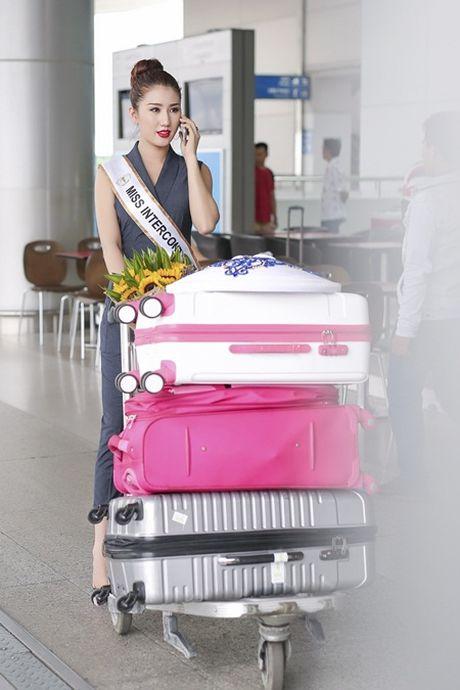 Bao Nhu lang le len duong tham du Miss Intercontinental 2016 - Anh 1