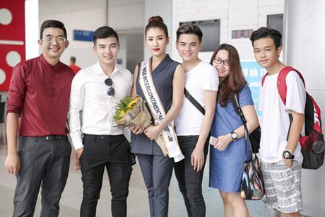 Bao Nhu lang le len duong tham du Miss Intercontinental 2016 - Anh 2