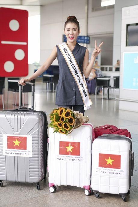 Bao Nhu lang le len duong tham du Miss Intercontinental 2016 - Anh 3