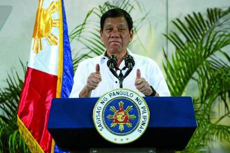 """Ong Duterte """"can hoc cach noi chuyen nhu mot tong thong"""" - Anh 1"""