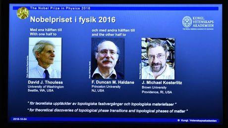 Bat ngo lon o Giai Nobel Vat ly 2016 - Anh 2