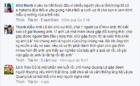 Quang Le di dom chia se quyet dinh moi trong tinh yeu cua minh - Anh 3