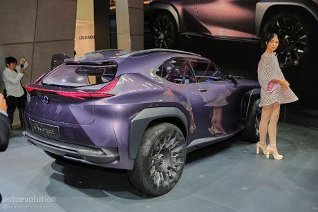 Lexus UX Concept gay bat ngo tai trien lam - Anh 2