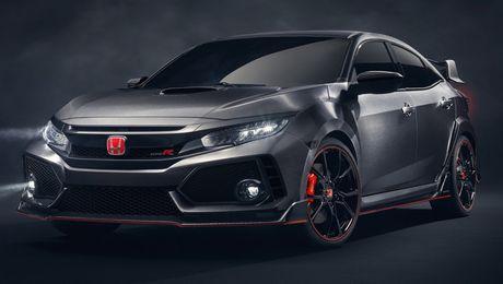 Honda Civic Type R Prototype 'gay sot' tai Paris - Anh 1