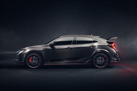 Honda Civic Type R Prototype 'gay sot' tai Paris - Anh 3