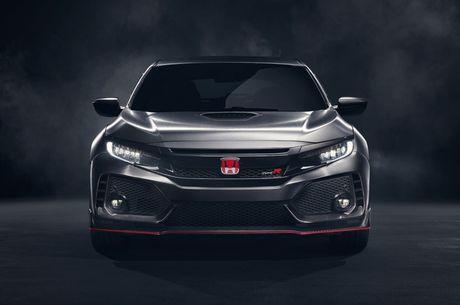 Honda Civic Type R Prototype 'gay sot' tai Paris - Anh 4