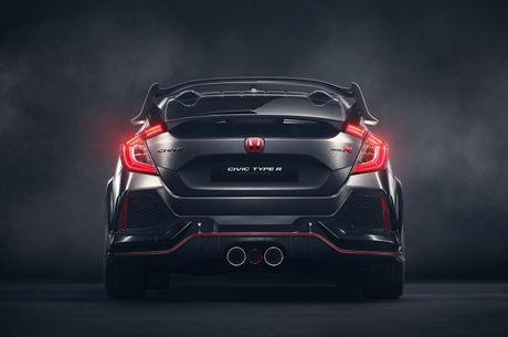 Honda Civic Type R Prototype 'gay sot' tai Paris - Anh 5
