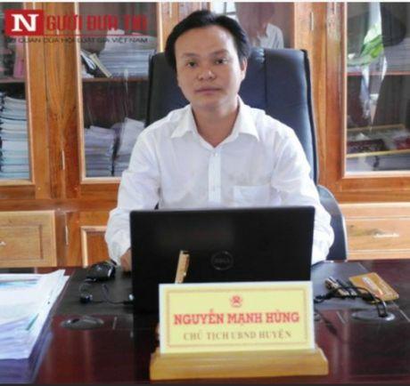 Dinh chi xay dung khu du lich khong phep cua Pho Cong an huyen - Anh 4