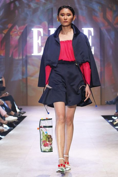 6 xu huong thoi trang len ngoi tu san runway Elle Fashion Journey 2016 - Anh 1