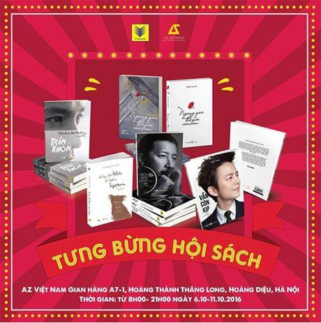 Ha Noi to chuc Hoi Sach tai Hoang Thanh Thang Long - Anh 2