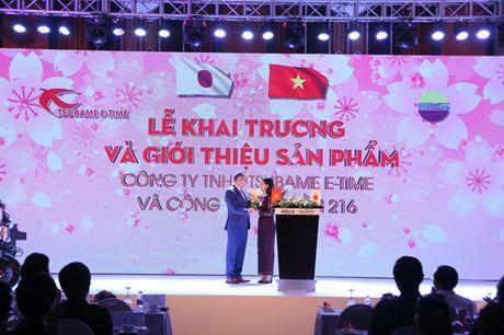 Tsubame E-time manh tay tang 100 xe may dien cho Cong an Ha Noi - Anh 1