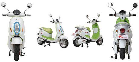 Tsubame E-time manh tay tang 100 xe may dien cho Cong an Ha Noi - Anh 3