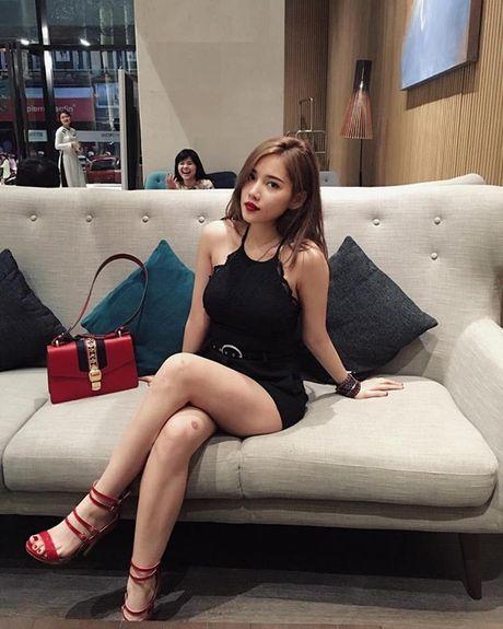 Hinh anh nong bong, dep kho cuong cua ban gai moi Tien Dat - Anh 11