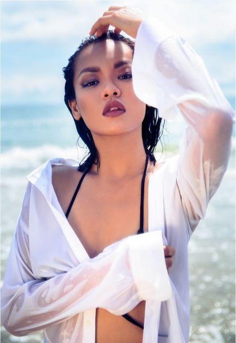 Thuong thuc tron bo anh bikini moi nhat cua Mai Ngo - Anh 6