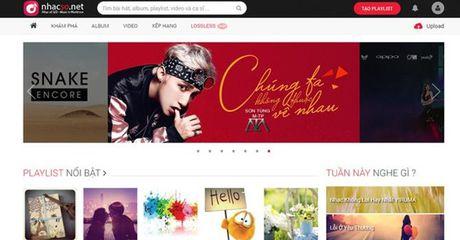 "Website nghe nhac ""nhacso.net"" chinh thuc dong cua - Anh 1"