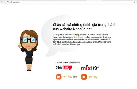 "Website nghe nhac ""nhacso.net"" chinh thuc dong cua - Anh 2"