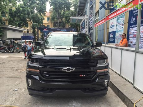 """Khung long"" Chevrolet Silverado chat vat vao Vietnam Motor Show 2016 - Anh 12"
