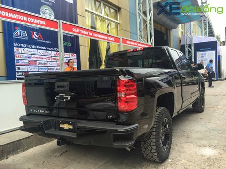 """Khung long"" Chevrolet Silverado chat vat vao Vietnam Motor Show 2016 - Anh 2"