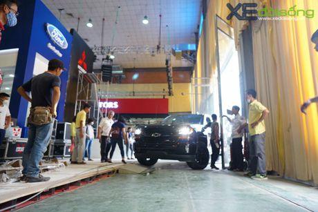 """Khung long"" Chevrolet Silverado chat vat vao Vietnam Motor Show 2016 - Anh 3"