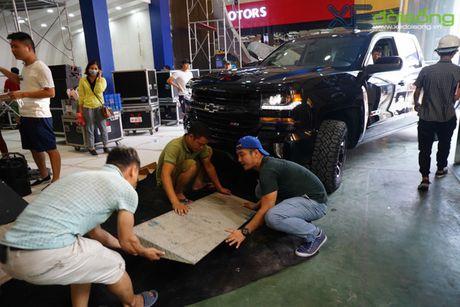 """Khung long"" Chevrolet Silverado chat vat vao Vietnam Motor Show 2016 - Anh 4"