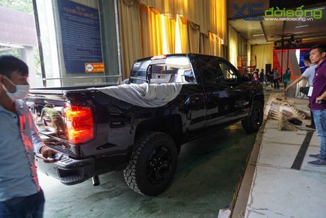 """Khung long"" Chevrolet Silverado chat vat vao Vietnam Motor Show 2016 - Anh 5"