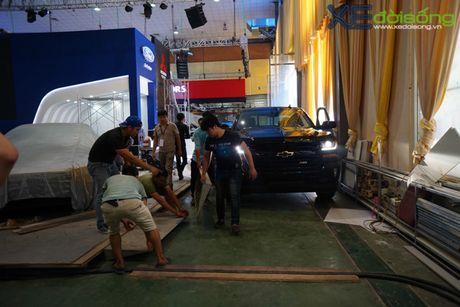"""Khung long"" Chevrolet Silverado chat vat vao Vietnam Motor Show 2016 - Anh 6"