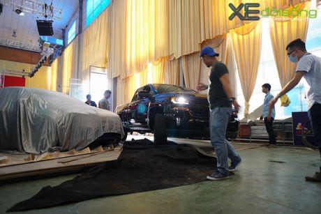 """Khung long"" Chevrolet Silverado chat vat vao Vietnam Motor Show 2016 - Anh 7"