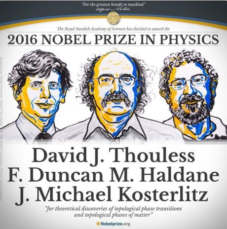 Ba giao su Anh doat giai Nobel Vat ly 2016 - Anh 1