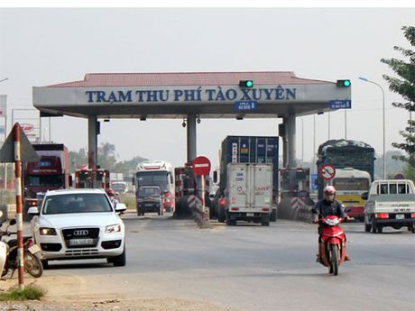 Kiem tra, giam sat cong tac thu phi Tram thu phi Tao Xuyen - Anh 1