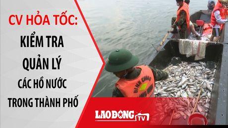 Nong 24h: Hoa toc cong dien kiem tra quan ly ho nuoc o Ha Noi - Anh 1