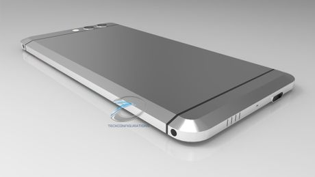 Smartphone khong nut bam cua HTC ro ri hinh anh - Anh 2