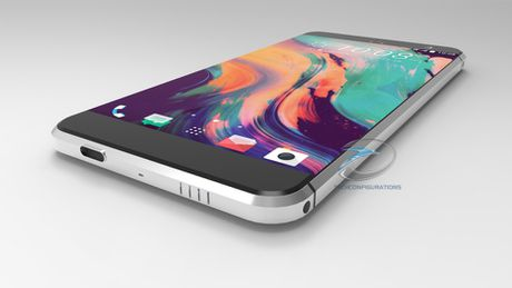 Smartphone khong nut bam cua HTC ro ri hinh anh - Anh 4