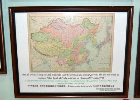 Quang Tri: Trung bay ban do co khang dinh chu quyen quan dao Hoang Sa, Truong Sa - Anh 3
