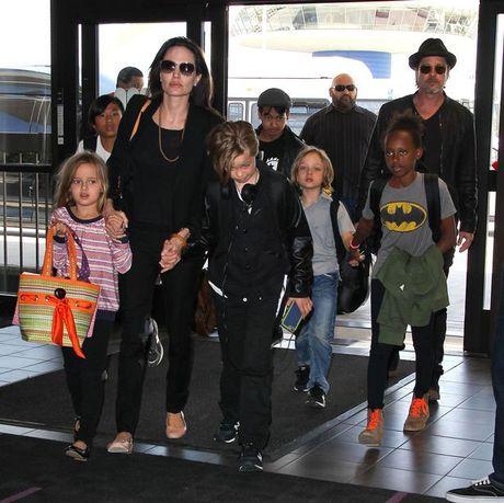 Bao mau cua Angelina Jolie khuyen khong nen tach Brad Pitt khoi cac con - Anh 3