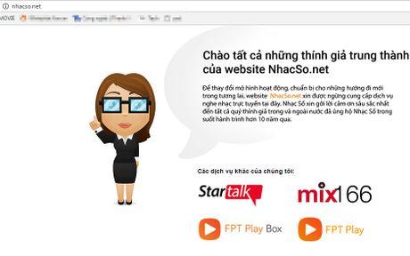 Dich vu nhac truc tuyen nhacso.net chinh thuc dong cua - Anh 1