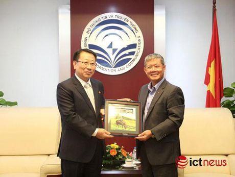 Bac Trieu Tien muon hop tac voi Viet Nam trong linh vuc CNTT - Anh 2